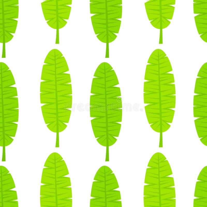 Modèle de feuille de banane illustration libre de droits