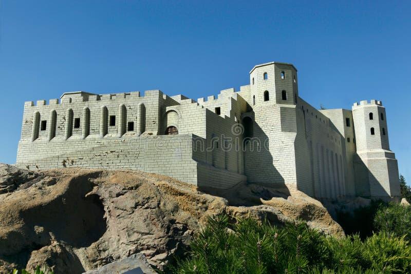 Modèle de forteresse d'Ajyad image stock