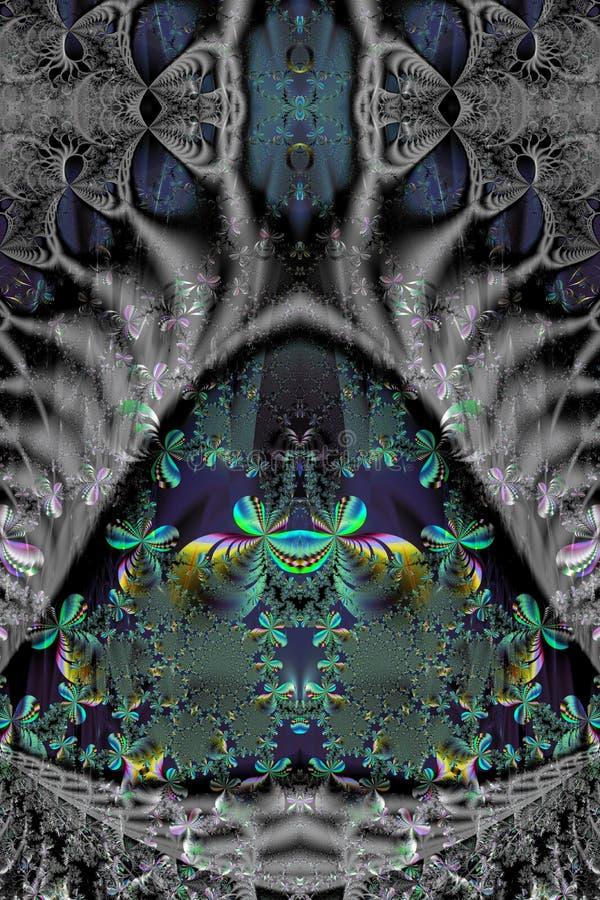 Modèle de fractale Illustration illustration stock
