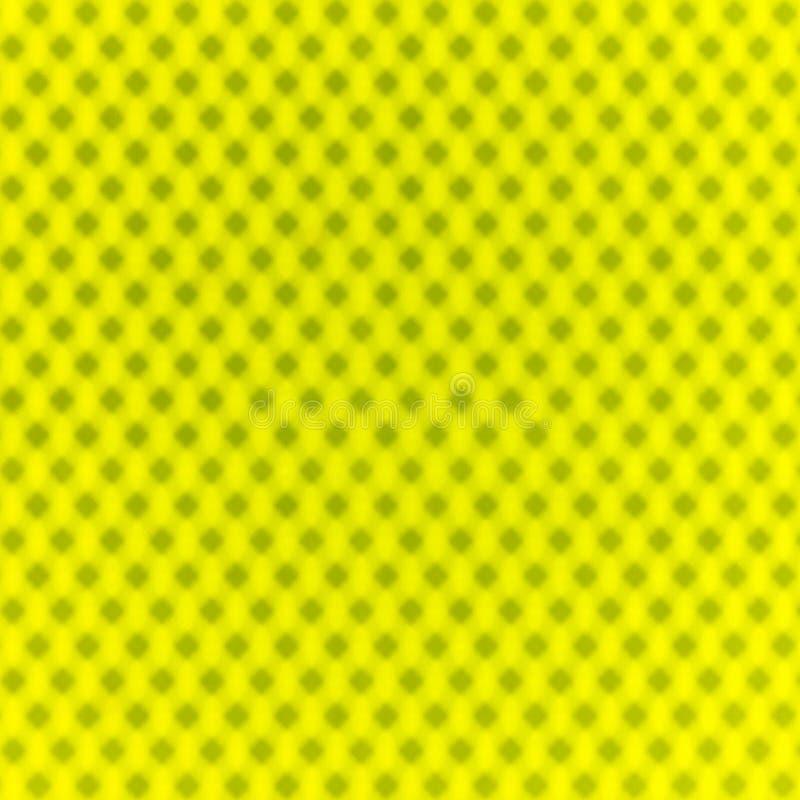 Modèle de géométrique jaune de résumé pointillé photographie stock libre de droits