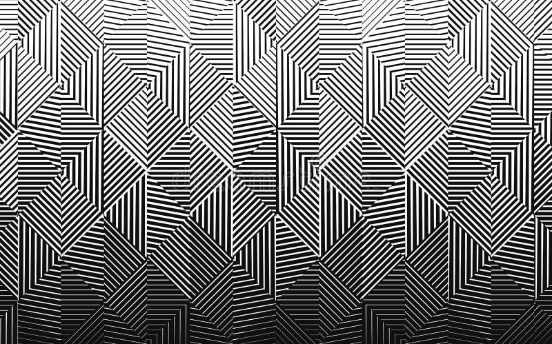 Modèle de gradient de vecteur illustration de vecteur