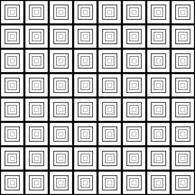 Modèle de grille diagonal avec les lignes minces, places minuscules, maille illustration libre de droits