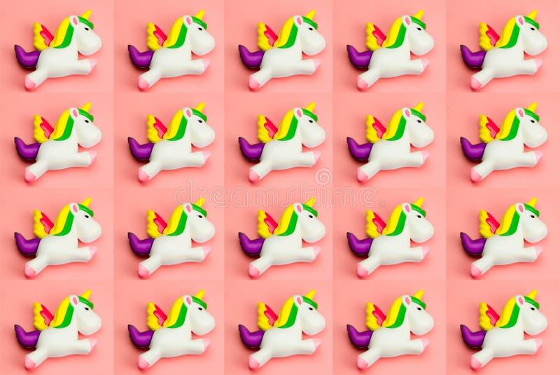 modèle de jouet de licorne photo libre de droits