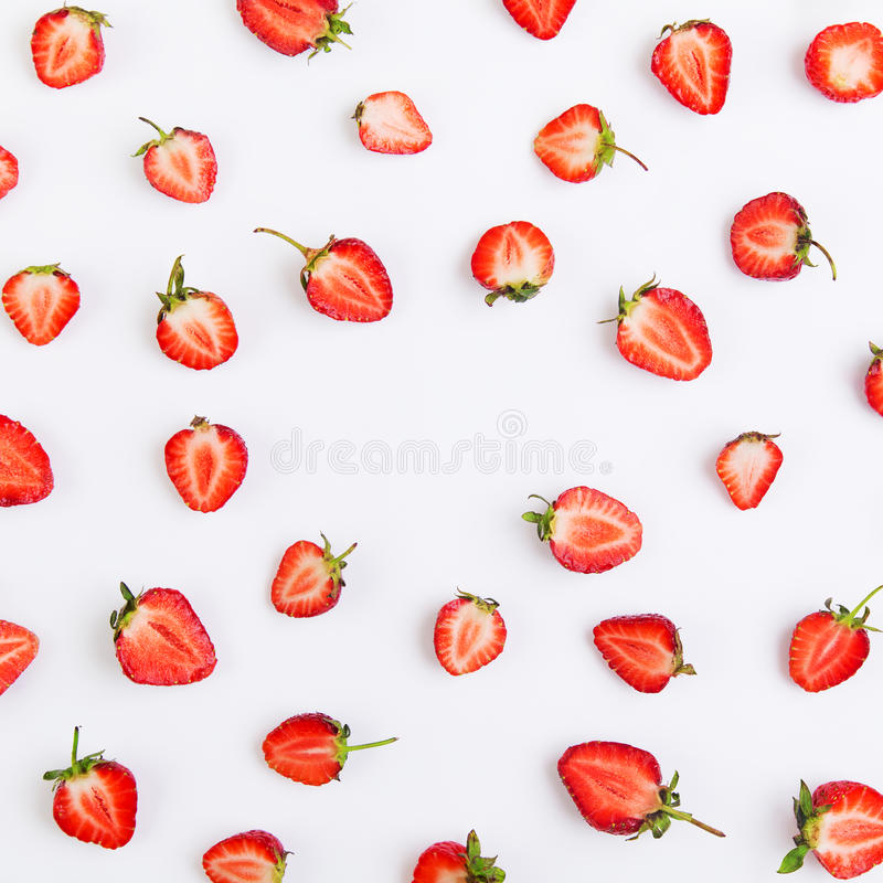 Download Modèle de la fraise photo stock. Image du couleur, image - 77150224