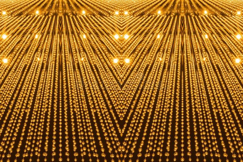 Modèle de luxe de lumière de lustre photo libre de droits