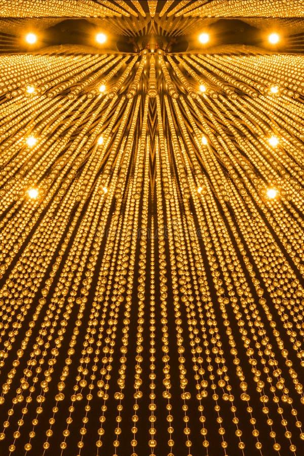 Modèle de luxe de lumière de lustre photos stock