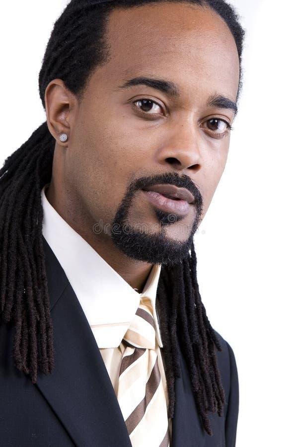 Modèle de mâle d'Afro-américain photo libre de droits