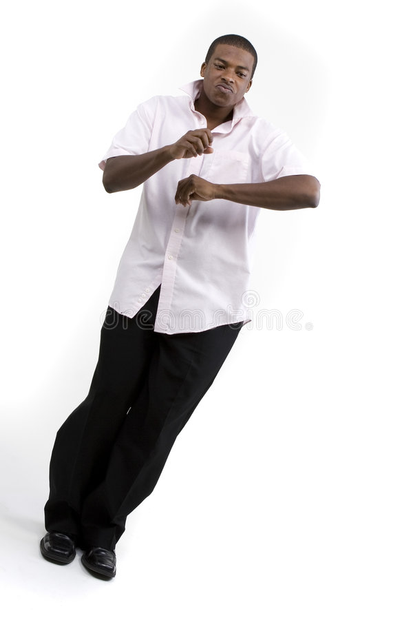 Modèle de mâle d'Afro-américain image stock