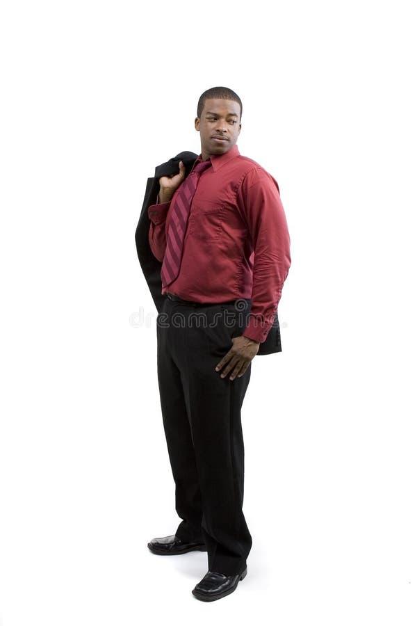 Modèle de mâle d'Afro-américain photographie stock