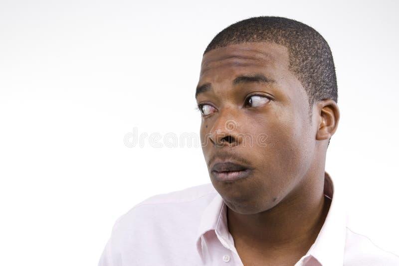 Modèle de mâle d'Afro-américain photos stock