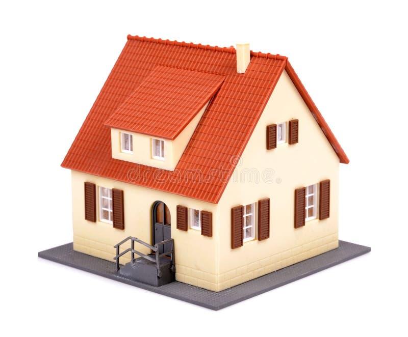 Modèle de maison photo libre de droits