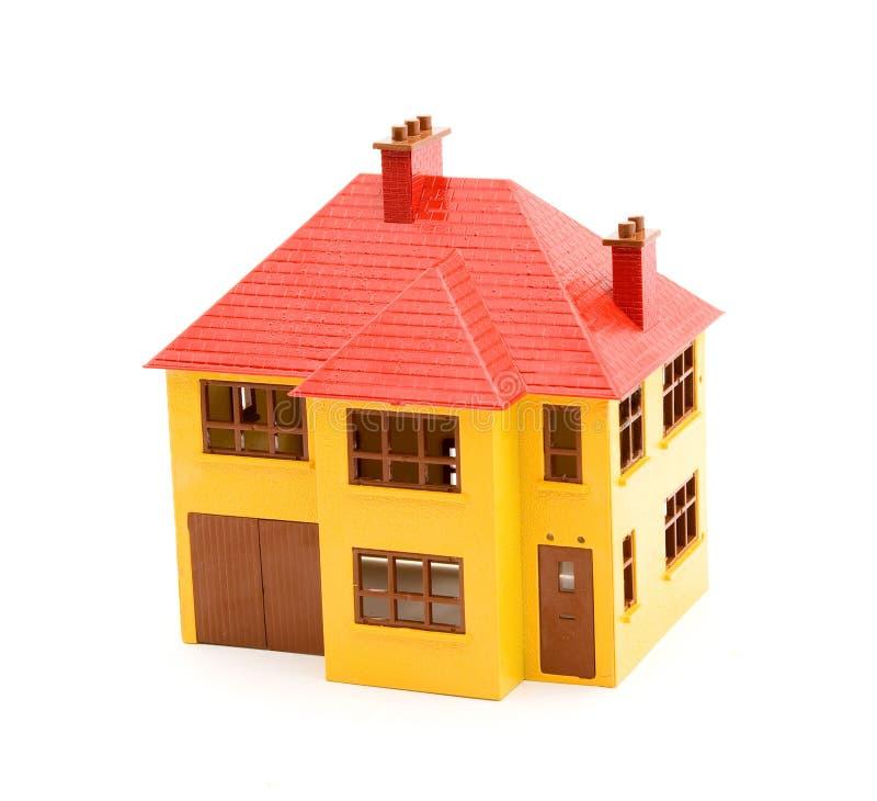 Modèle de maison de jouet photos libres de droits