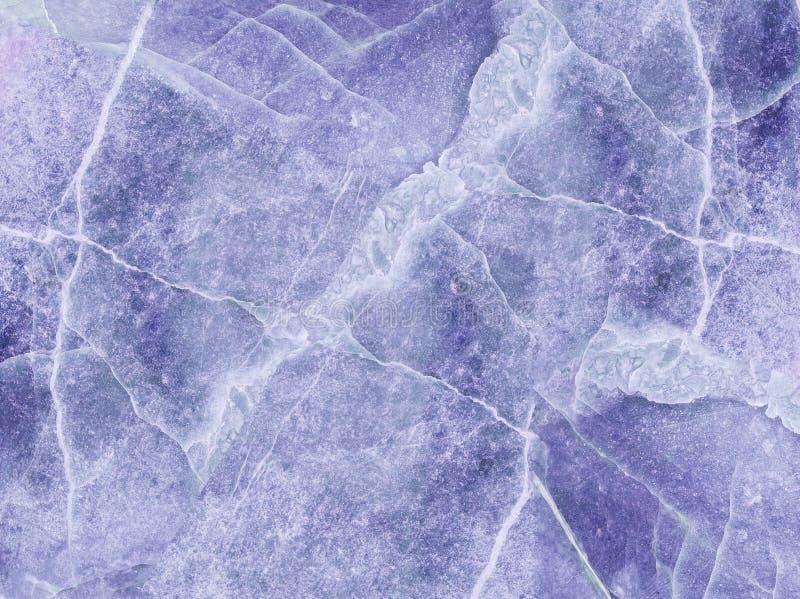 Modèle de marbre abstrait extérieur de plan rapproché au fond en pierre de marbre bleu de texture de plancher photos stock
