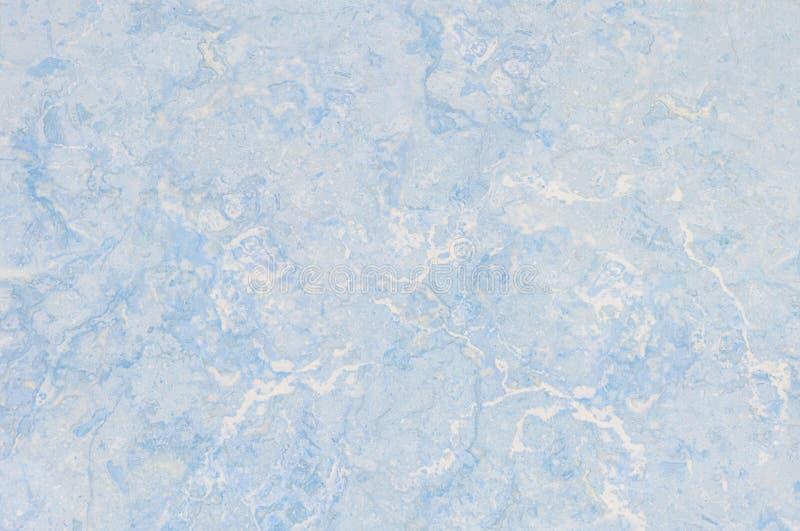 Modèle de marbre abstrait extérieur de plan rapproché au fond en pierre de marbre bleu de texture de plancher photographie stock libre de droits
