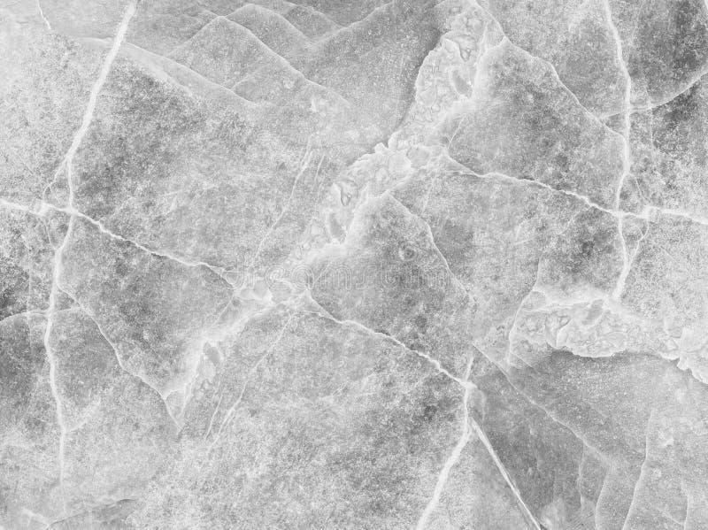 Modèle de marbre extérieur de plan rapproché au fond de marbre de texture de mur en pierre dans le ton noir et blanc photographie stock libre de droits