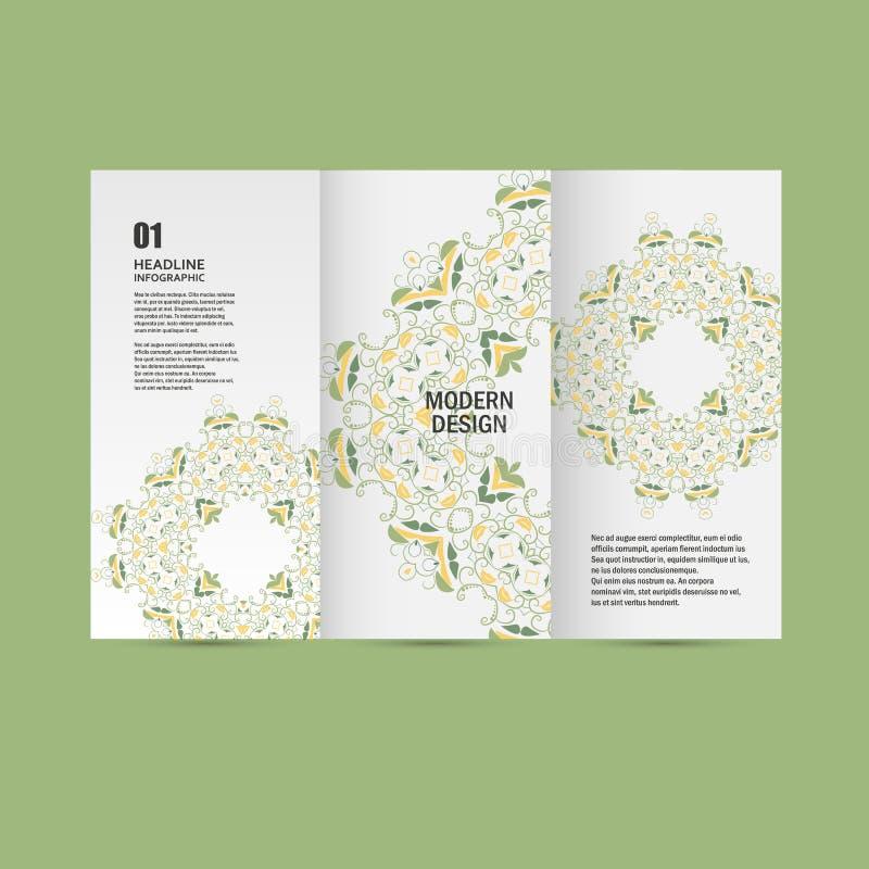 Modèle de modèle de vecteur beau sur le produit imprimé Concevez pour des livres, bannières, faire de la publicité de pages illustration de vecteur
