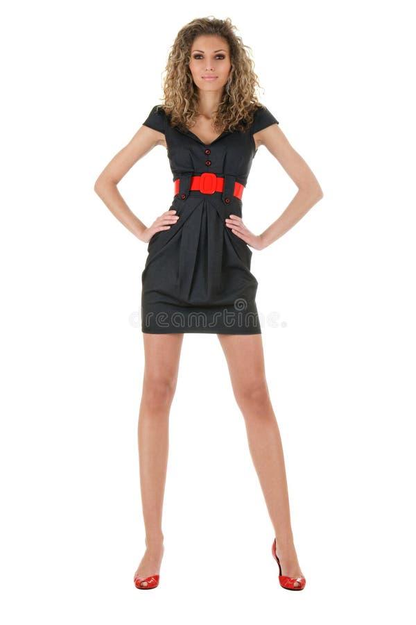 Modèle de mode sexy photo stock