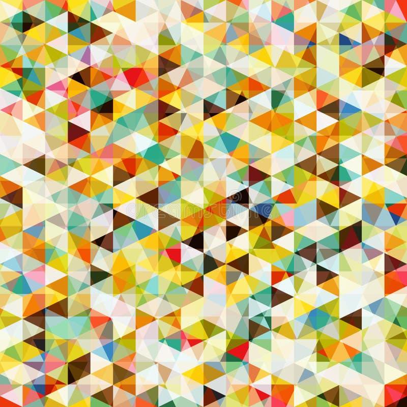 Modèle de mosaïque abstrait illustration stock