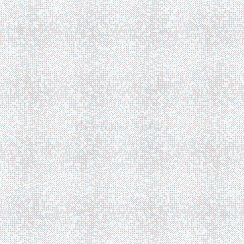 Modèle de mosaïque gris sans couture Fond clair de petites places illustration de vecteur