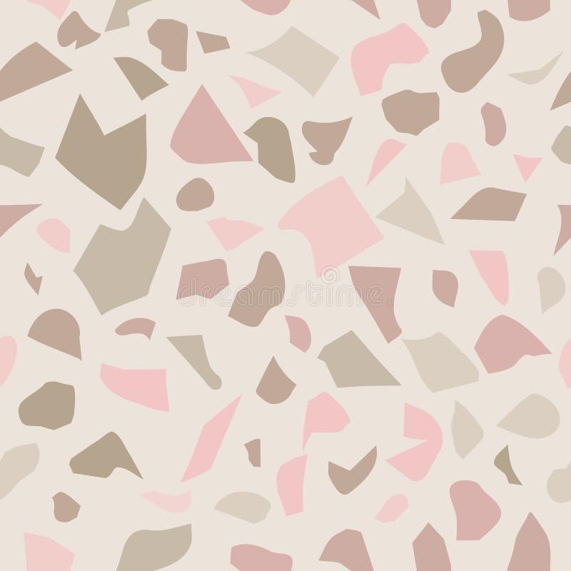 Modèle de mosaïque de sol de mosaïque illustration de vecteur