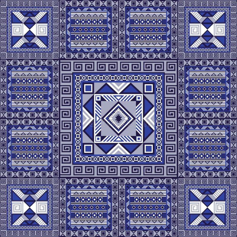 Modèle 33 de Navajo illustration de vecteur