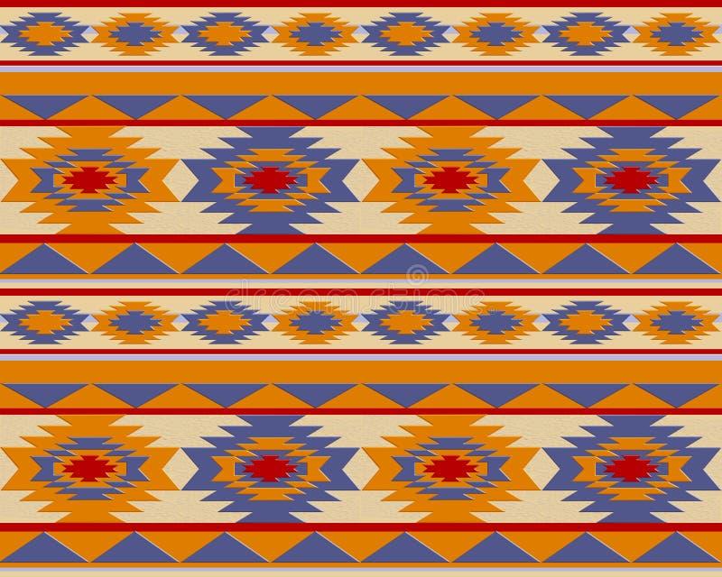 Modèle de Navajo de Suthwestern illustration stock