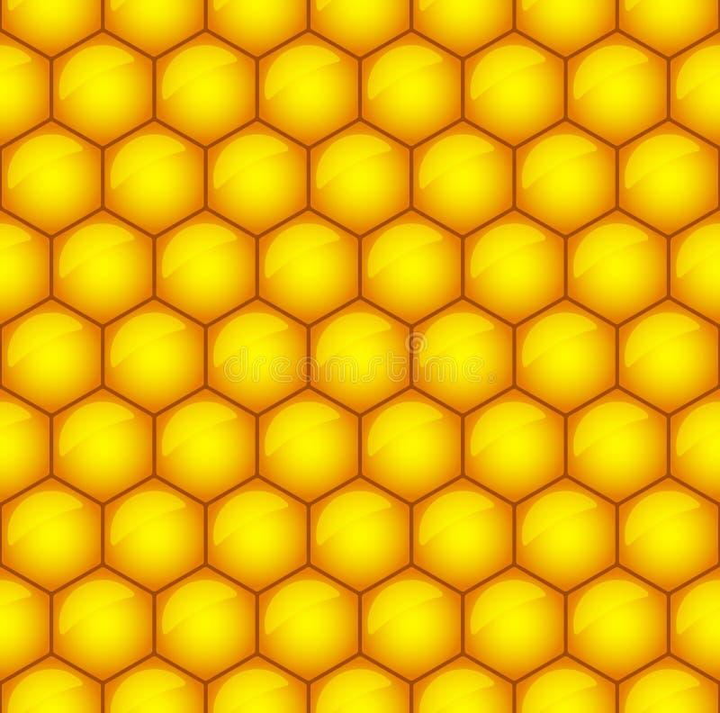 Modèle de nid d'abeilles illustration stock