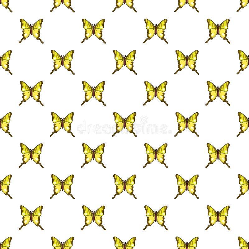 Modèle de papillon de podalirius d'Iphiclides sans couture illustration libre de droits