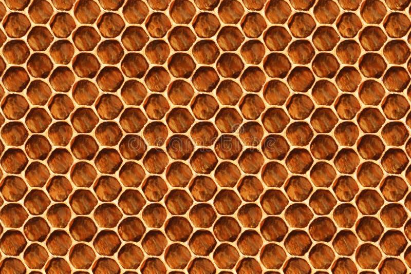 Modèle de peigne de miel pour l'arrière-plan et la texture Concept d'apiculture photo stock