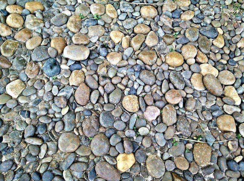 Modèle de pierre de champ image libre de droits