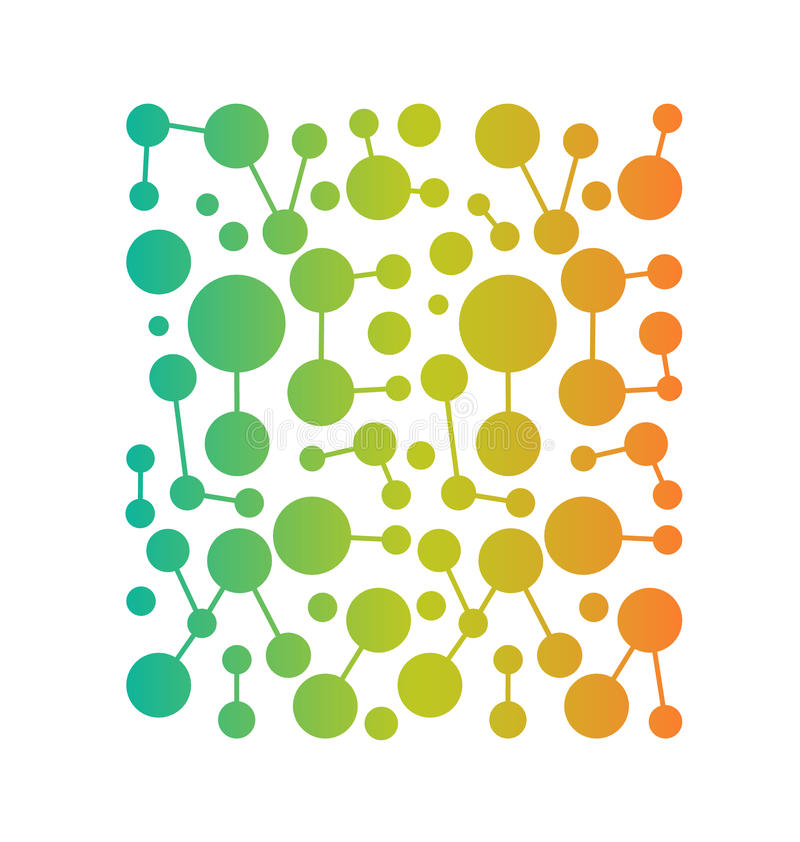 Modèle de place de réseau de vecteur illustration de vecteur