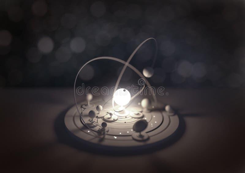 Modèle de planétarium illustration libre de droits