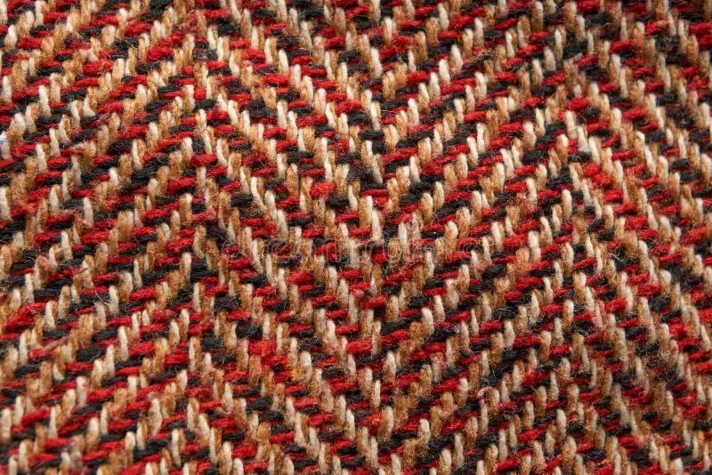 Modèle de plan rapproché de matériel de texture de laine photos stock