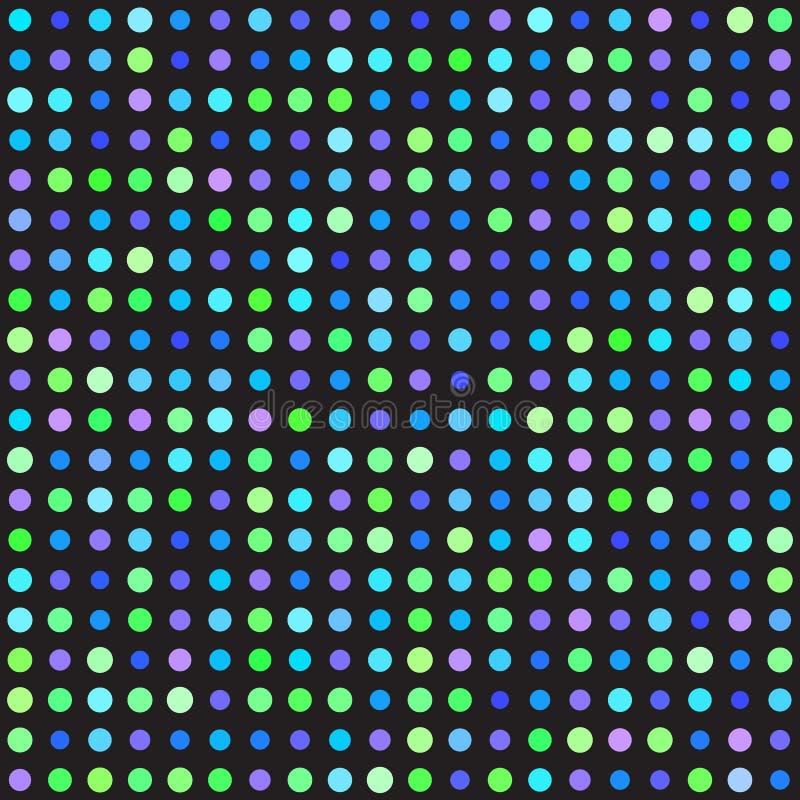 modèle de point de polka Fond sans couture de point de vecteur illustration libre de droits