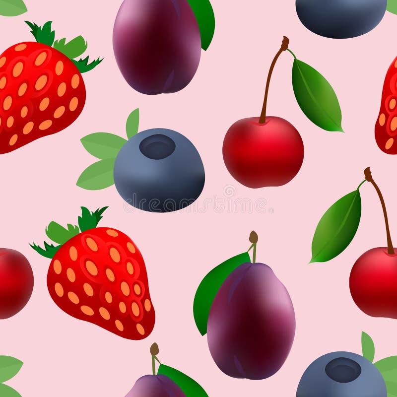 Modèle de puissance d'icône de fruit photographie stock libre de droits