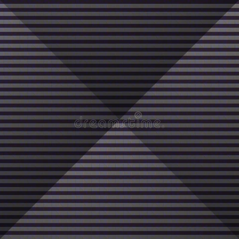 Modèle de pyramide illustration stock