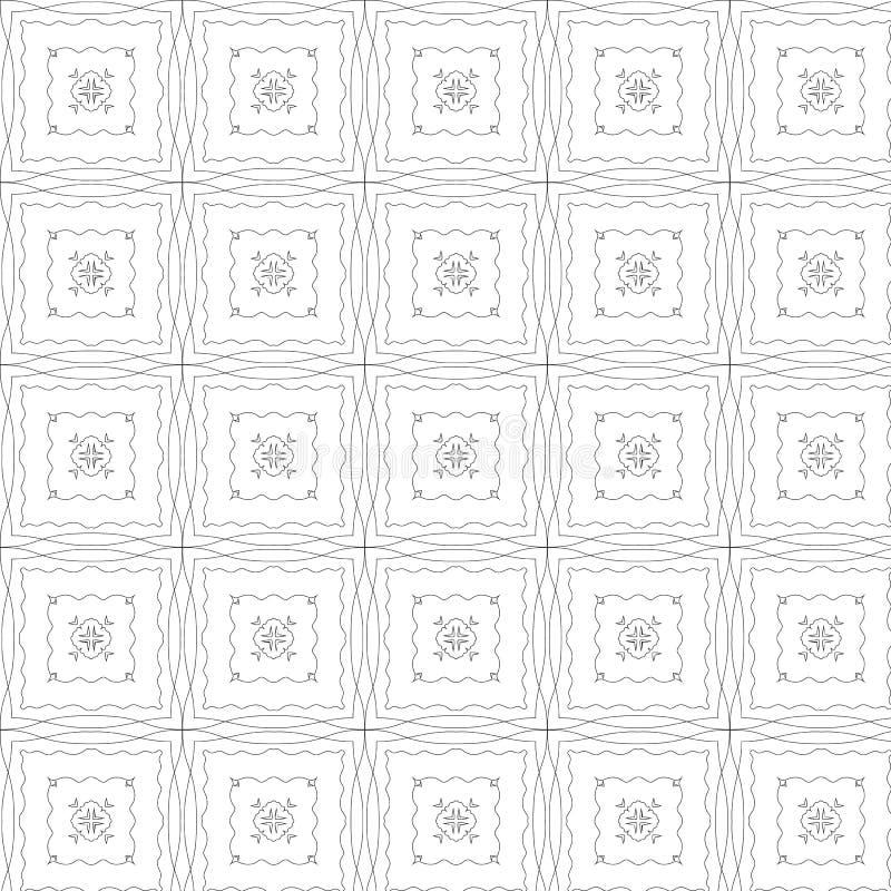 Download Modèle De Répétition Grunge Sur Un Fond Blanc Illustration de Vecteur - Illustration du ornement, textile: 56483234