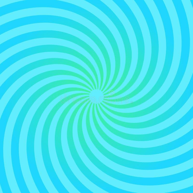Modèle de rayon de soleil Fond radial illustration libre de droits