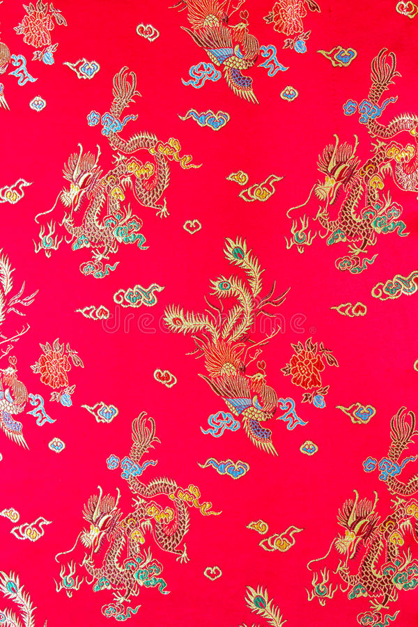 Modèle de robe de Cheongsam photo stock