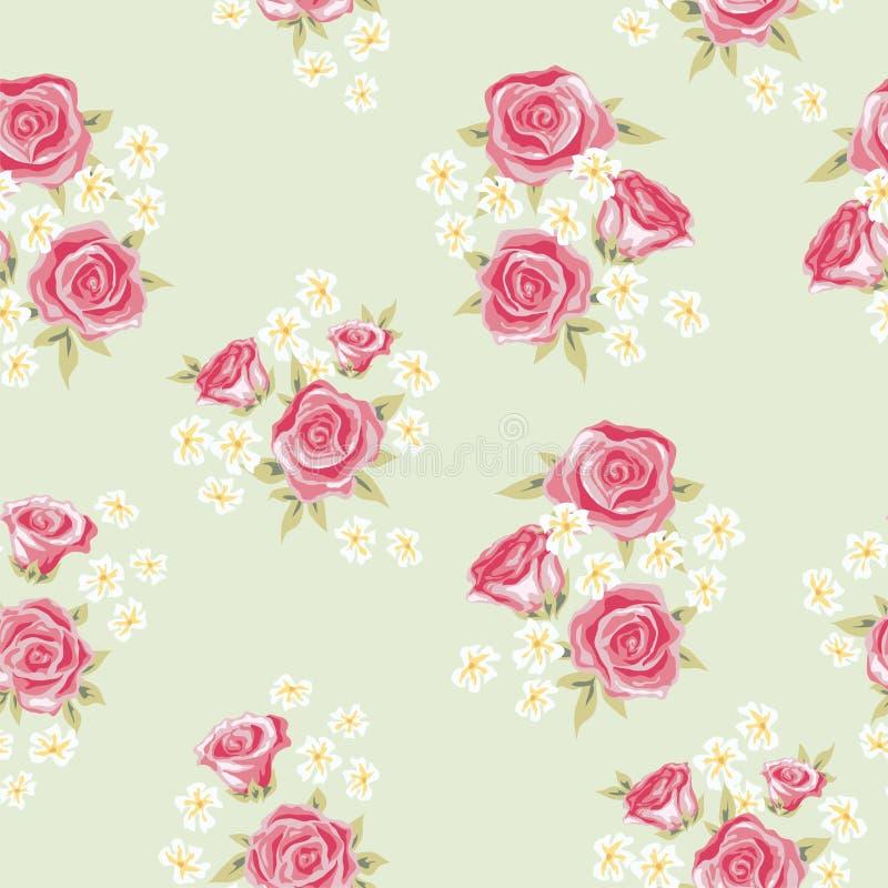 Modèle 3 de Rose illustration stock