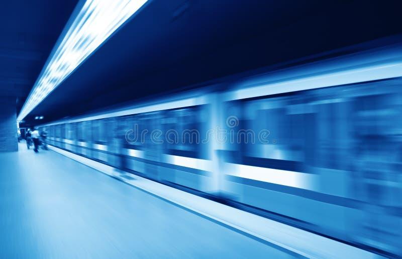 Modèle de station de métro photographie stock libre de droits