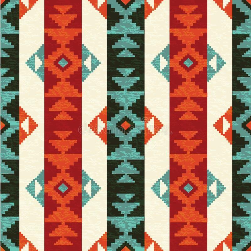 Modèle de style de Navajo illustration de vecteur