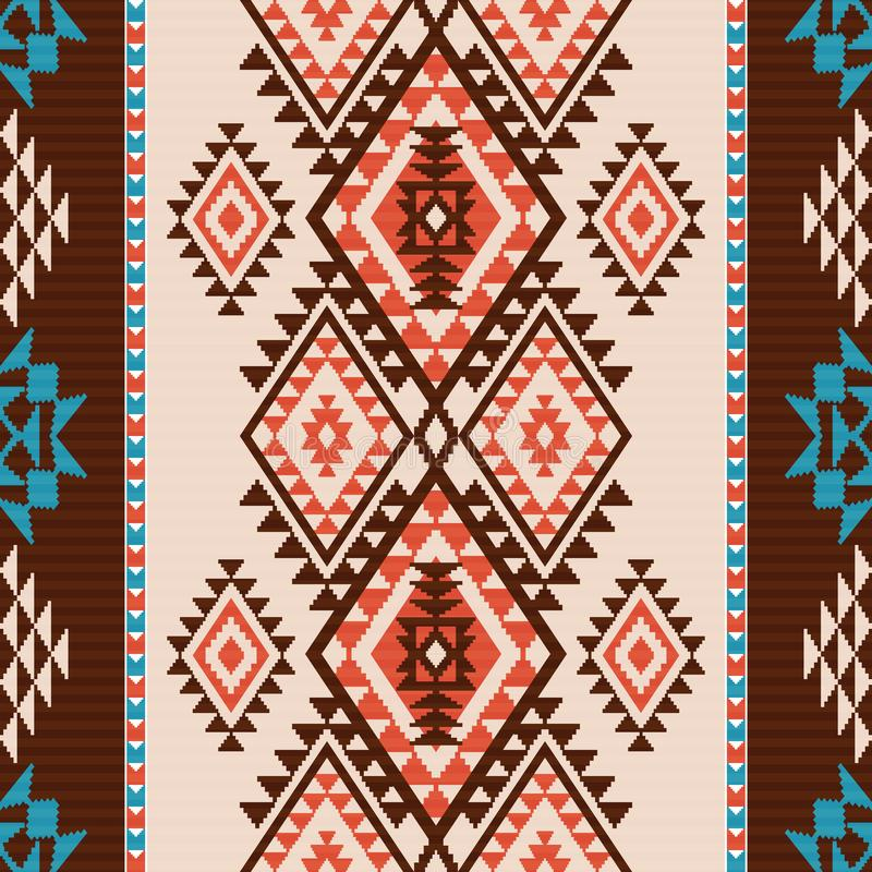 Modèle de style de Navajo illustration libre de droits
