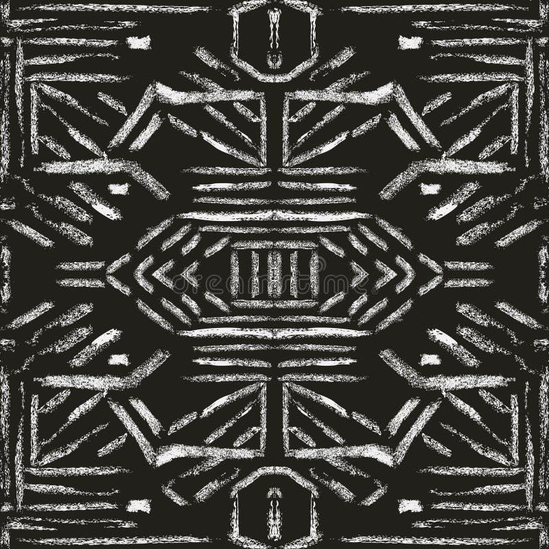 Modèle de texture de brosse illustration stock