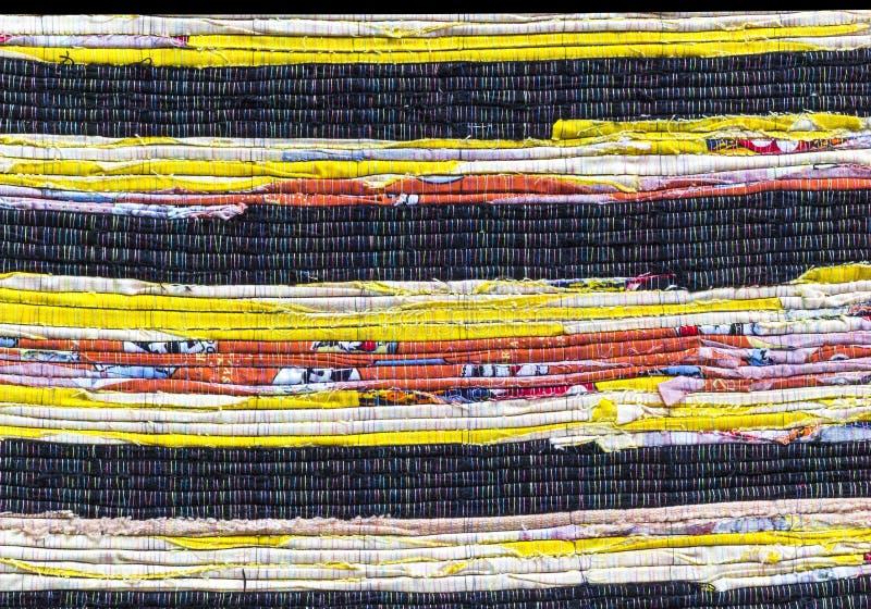 Modèle de texture d'alternance de tissu photos stock
