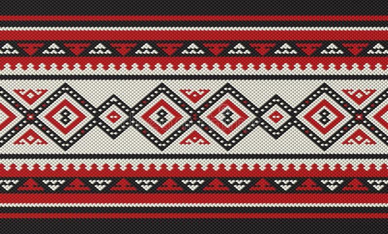 Download Modèle De Tissage De Gens De Main Arabe Traditionnelle De Sadu Illustration Stock - Illustration du décoration, formes: 76089544