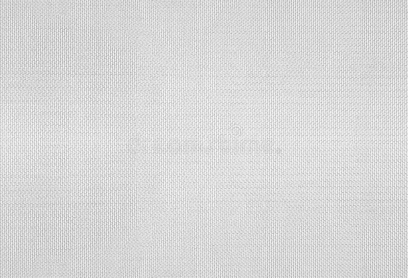 Modèle de tissu de fond de tissu, texture en soie blanche de plan rapproché photo libre de droits