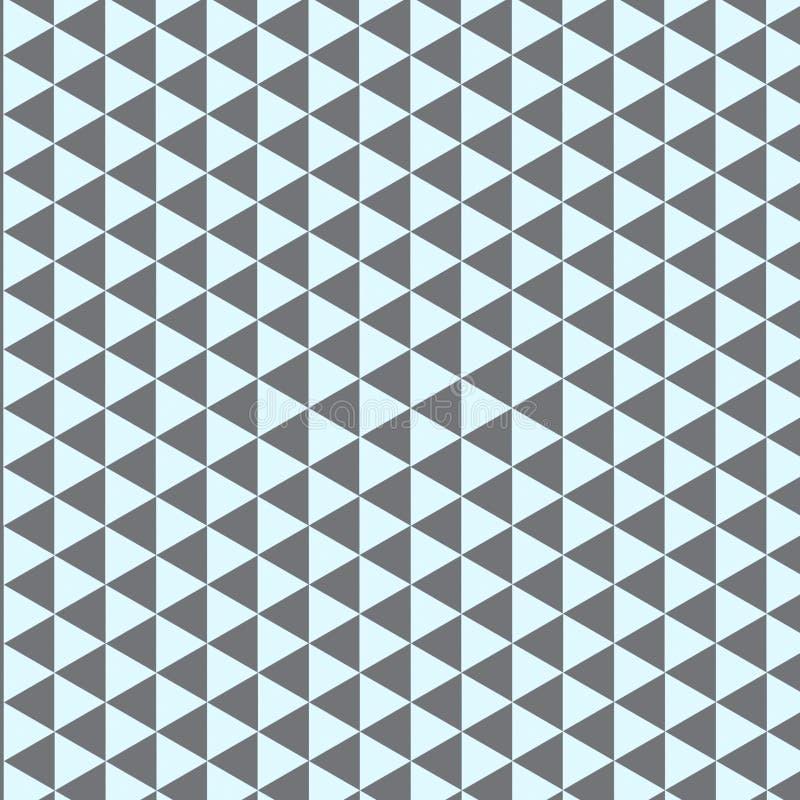Modèle de triangles illustration libre de droits