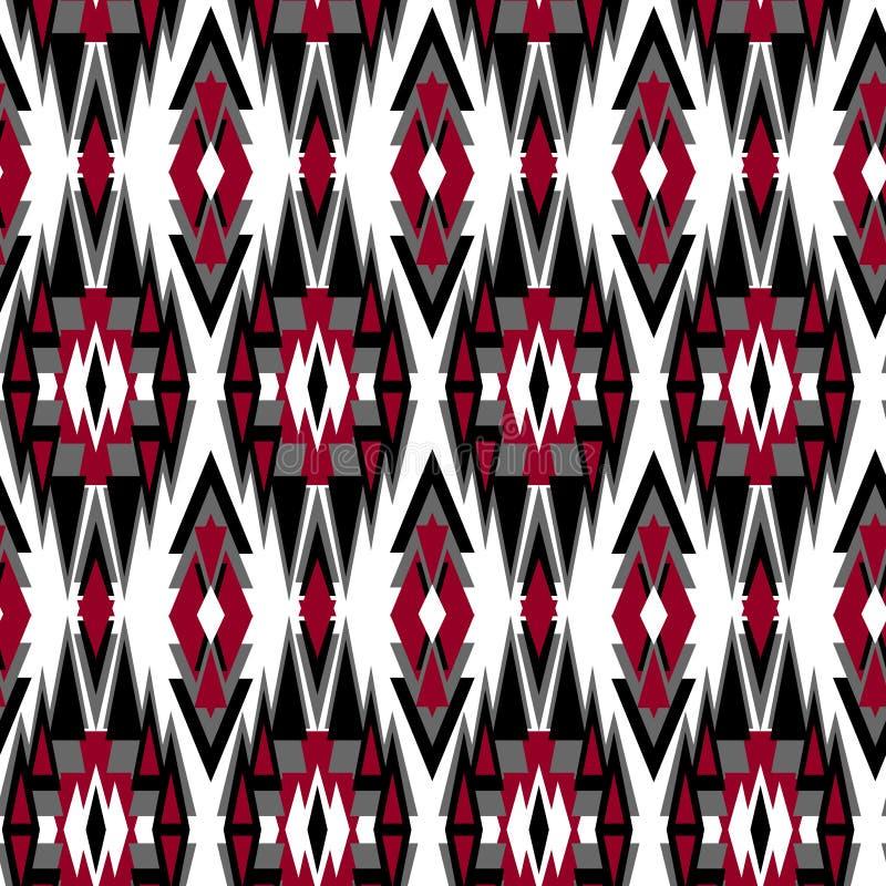 Modèle de tribal de Navajo illustration stock