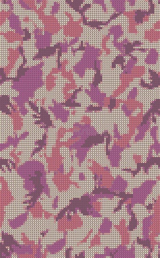 Modèle de tricotage illustration stock